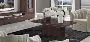Prestige Warm Umber Birch Coffee Table