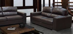 Naples 2 Seater Brown Brn