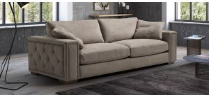 Iseo Cream Fabric 3 + 2 Sofa Set With Wooden Legs Newtrend Available In A Range Of Leathers And Colours 10 Yr Frame 10 Yr Pocket Sprung 5 Yr Foam Warranty