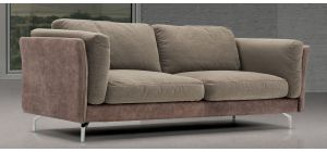 Johnny Fabric 3 + 2 Sofa Set With Chrome Legs Newtrend Available In A Range Of Leathers And Colours 10 Yr Frame 10 Yr Pocket Sprung 5 Yr Foam Warranty