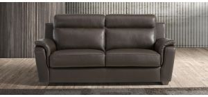 Edna Brown Leather 3 + 2 Sofa Set With Wooden Legs Newtrend Available In A Range Of Leathers And Colours 10 Yr Frame 10 Yr Pocket Sprung 5 Yr Foam Warranty