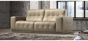 Emilia Cream Leather 3 + 2 Sofa Set Newtrend Available In A Range Of Leathers And Colours 10 Yr Frame 10 Yr Pocket Sprung 5 Yr Foam Warranty