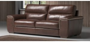 Greta Brown Leather 3 + 2 Sofa Set With Wooden Legs Newtrend Available In A Range Of Leathers And Colours 10 Yr Frame 10 Yr Pocket Sprung 5 Yr Foam Warranty