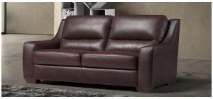 Jasmin Brown Leather 3 + 2 Sofa Set With Wooden Legs Newtrend Available In A Range Of Leathers And Colours 10 Yr Frame 10 Yr Pocket Sprung 5 Yr Foam Warranty