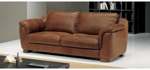Minuetto Brown Leather 3 + 2 Sofa Set With Wooden Legs Newtrend Available In A Range Of Leathers And Colours 10 Yr Frame 10 Yr Pocket Sprung 5 Yr Foam Warranty