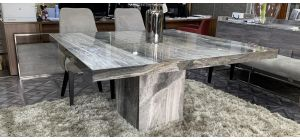 Stone International 1.4m Square Marble Dining Table - Other Finishes And Sizes Available(see images)