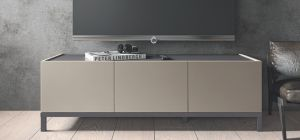 Kali Taupe Three Door TV Unit
