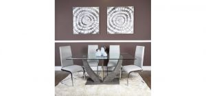 Salisbury Grey Dining Set