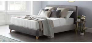Madrid Bed Frame Double 4FT6 Grey