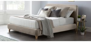 Madrid Bed Frame King 5FT Putty