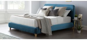 Madrid Bed Frame King 5FT Peacock