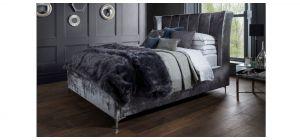 Manhattan Bed Frame King 5FT Titanium