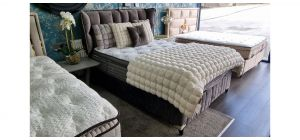 Serenity Bed Frame Double 4FT6 With Ottoman Storage