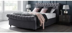 Paris Bed Frame Double 4FT6 Cosmic With Side Ottoman Storage