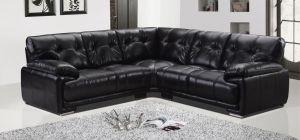 Prezzo Leathaire Large Corner Sofa 2C2 Black