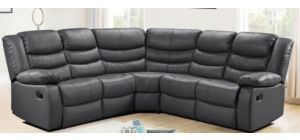 Roma Recliner Corner 2C2 Grey, 21 Working Days Delivery