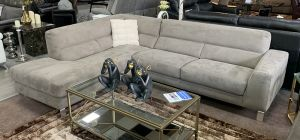 Est Simon Fabric Corner Sofa LHF Grey Available In Other Colours