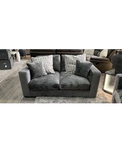 Arch Fabric Sofa 2 Seater Grey