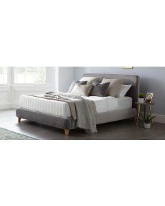 Madrid Bed Frame King 5FT Grey